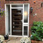 Glasgilde-voordeur